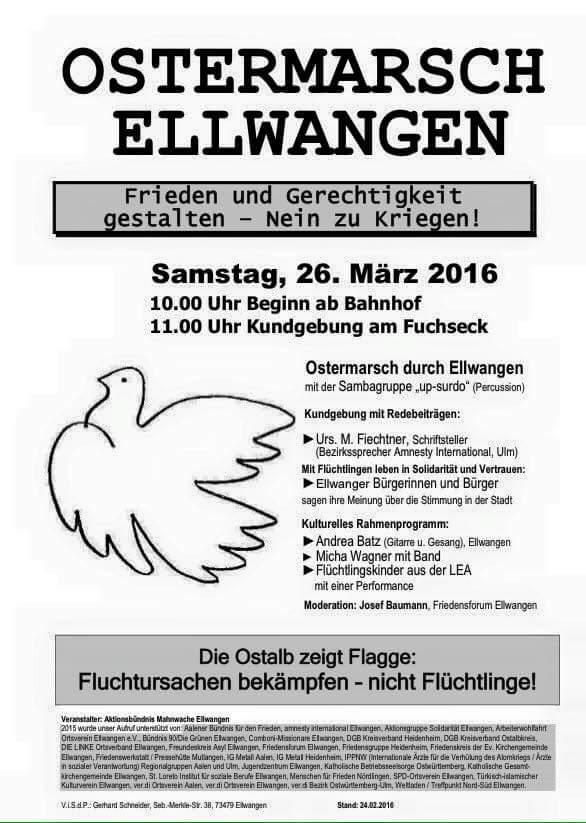 Ostermarsch Ellwangen
